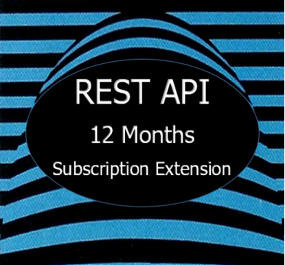 hIOmon REST API Subscription Extension 12 Months